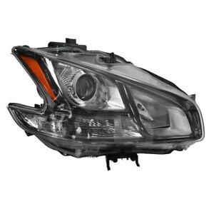 MAXIMA SPORT 2011 2012 BLACK HEADLIGHT HEAD FRONT LAMP LIGHT RIGHT XENON HID