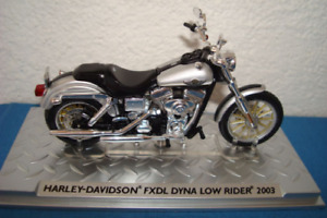 Harley Davidson 2003 FXDL Dyna Low Rider -topmodell 1:24 Altaya