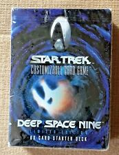 Star Trek Deep Space Nine Limited Edition CCG 60-Card Starter Deck NEW SEALED