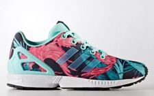 52525695f635 adidas ZX Flux J Birds of Paradise Youth Size 7y Athletic Shoes By9827