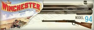 """Winchester Model 94 S    Metal Sign 6"""" x 18"""""""