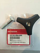 Honda Genuine handle knob & bolt, handle pipe grip holder Buffalo lawnmower HRU