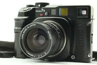 【EXC+5】 Mamiya 7 II Black Medium Format Camera w/ N 65mm F/4 L Lens From JAPAN