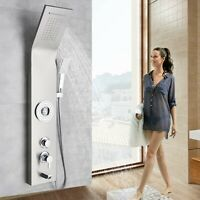 ELLO&ALLO Shower Panel Tower Rain Waterfall Massage Body System Jets Sprayer Tap