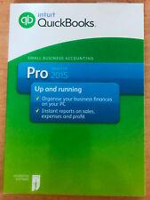 Intuit QuickBooks Pro 2015 Desktop For Windows Full UK Retail Version
