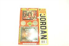 Michael Jordan RARE 1998 Last Game Montage Collectible with Card 2 Coins DVD