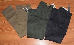 NWT Womens SUPPLIES by UNIONBAY Khaki Camo Gray Skinny Cargo Pants 4 6 8 10 12