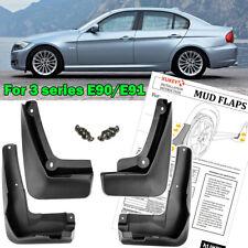 Set For BMW 3 Series E90 E91 2008-2012 Mud Flaps Splash Guards Mudguards