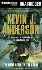 THE DARK BETWEEN THE STARS unabridged audio CD by KEVIN J. ANDERSON - Brand New!
