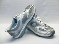 Skechers Shape Ups Women's 10 M 12320 Gray Blue Toner Walking Sneakers Shoes