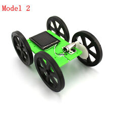 1 Pcs Mini Solar Powered Toy DIY Car Kit 5*44*60mm 4WD Robot Car Chassis model 2