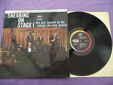 """Shearing on Stage! Live jazz concert. 12"""" Vinyl Album (12A581)"""