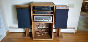 Stereo ensemble including cabinet