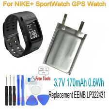 Replacement EEMB LP322431 3.7V 170mAh Battery for NIKE+ SportWatch GPS Watch