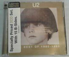 U2 Best Of 1980-1990 Promotional 2 Promo CD Set VERY RARE