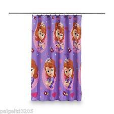 Disney Sofia the First Microfiber Shower Curtain