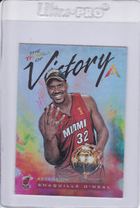 2017-18 Panini Ascension Thrill of Victory Shaquille O'Neal