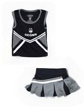 University of Connecticut Uconn Cheerleader Cheer Skirt Top Size 12-18 Months
