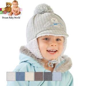 Baby boys hat winter warm autumn TIE UP hat BOY KIDS 18-24 months CAP