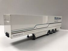 WSI TRUCK TRAILER 1.50 Box Van Suitable Code 3 For Fridge. Krone