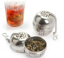 New stainless steel seasoning tea soup hot pot spices drain ball filter strainer