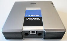 Lot of 2, Linksys PAP2 VoIP 2FXS Phone Adapter