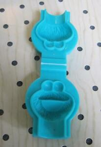 vintage 1990s PlayDoh Playskool Sesame Street Fingles Finger Mold COOKIE MONSTER
