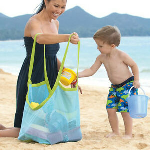 Extra Large Sand Away Carrying Bag Beach Toys Swimming Pool Mesh Storage Toy.Bag