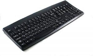 Solidtek Bilingual Hebrew English Black USB Wired computer Keyboard