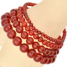 Handmade Natural Gemstone Round Beads Stretch Bracelet 4mm 6mm 8mm 10mm