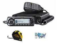 Icom ID-4100A 50W Dual Band D-STAR Transceiver with FREE Radiowavz Antenna Tape!