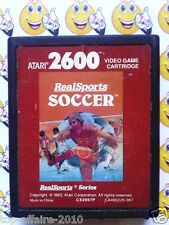 REALSPORTS SOCCER   Jeu ATARI 2600