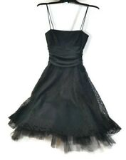 Jump Apparel Black Lace Overlay Formal Dress Party Prom Sz 3/4 NEW Juniors Women