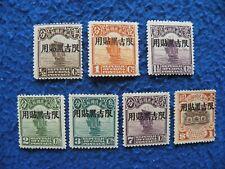 "China ROC Local Province 1927 ""Manchuria"" Sc#1/18 OG MH"