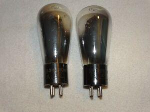 2 - # 45  RCA-Radiotron Tubes*Tested Good*Hot Stamped Base*