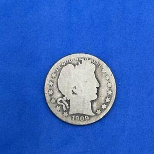 1909- O Barber Half Dollar US COIN D149