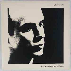 BRIAN ENO: Before and After Science UK Polydor w/ 4 Art Prints LP NM Vinyl