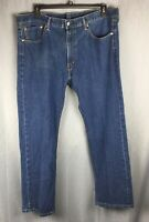 LEVI STRAUSS & CO Men's 505 Heavy Duty Dark Blue Size 40 X 30