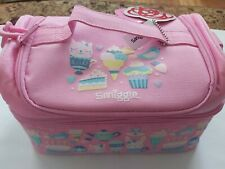 New Smiggle Pink Double Decker Lunchbox - Brand New with Tags
