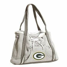 Green Bay Packers NFL Football Team Ladies Embroidered Hoodie Purse Handbag