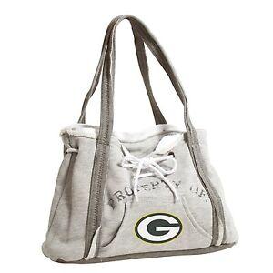 Ladies Embroidered Hoodie Purse Handbag - Green Bay Packers - NFL