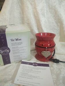 SCENTSY WARMER be mine FULL SIZE - NIB