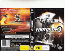 Fantastic 4-Rise of The Silver Surfer-2007-Ioan Gruffudd-[2 Disc]-Movie-DVD