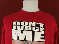 Give Me Face GMF Red Don't Judge Me If You Don't Know Me T-Shirt mens XL