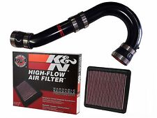 Fits 2014 Subaru Forester SSD / K&N COLD AIR INTAKE (CAI) BLACK, all 2.5 Models