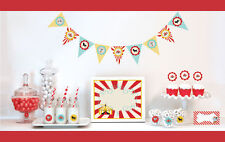 Circus Carnival Birthday Party Baby Shower Decorations Starter Kit