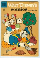 Walt Disney's Comics and Stories #187 Barks 1956 gvg