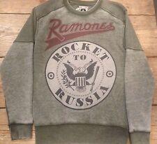 Amplified Ramones Rocket T Russia  Pullover Sweater Small, Medium, Large  Jumper