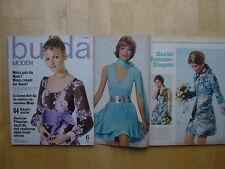 Burda Moden 06/1970 TRACHT PARIS Gipsy Hosenanzug Mieder strick Modezeitschrift