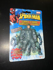 "Marvel Spider-Man Giant Foam Growing Figure Rhino grow 3"" to 9"" in water new nip"